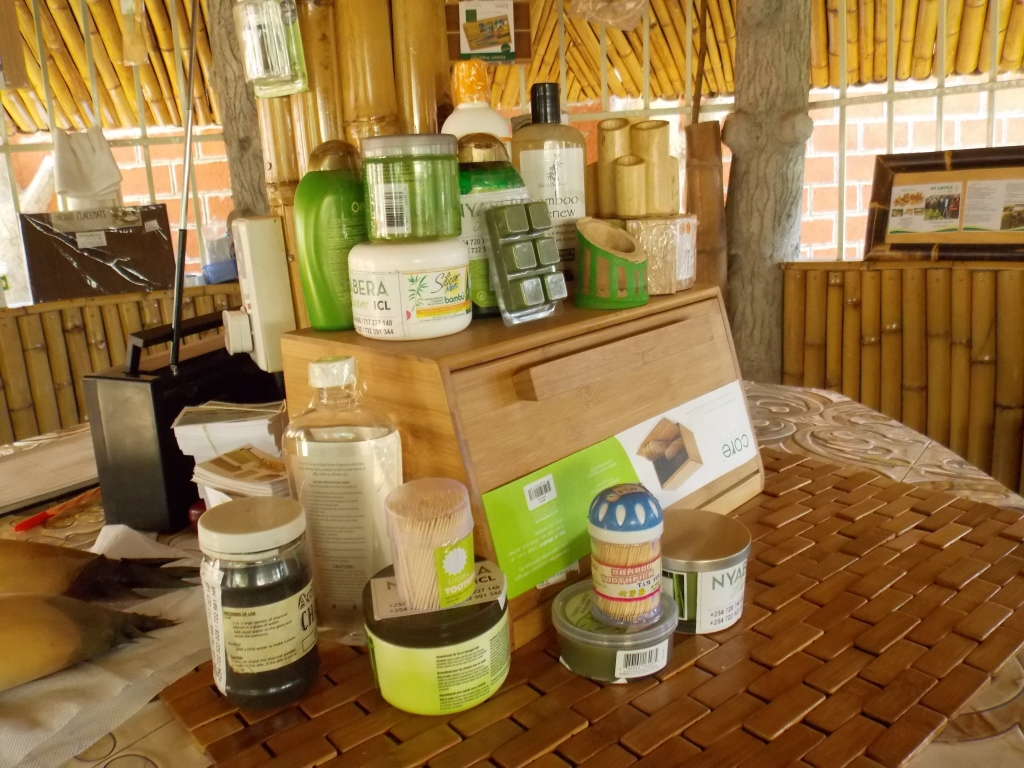 Some Of Bamboo Products At